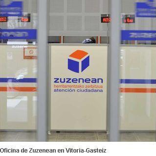 Zuzenean gestionar los buzones departamentales de euskadi for Oficina correos vitoria